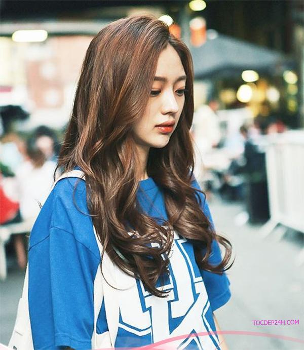 Màu tóc nâu lạnh