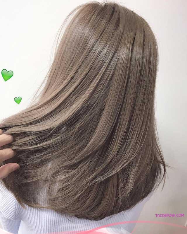 nhuộm tóc màu gì đi học