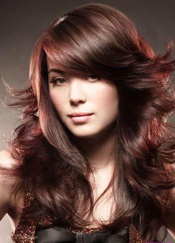 kiểu tóc phù hợp gương mặt vuông