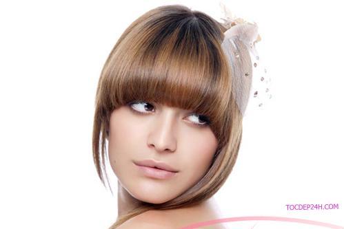 Chọn kiểu tóc phù hợp gương mặt vuông