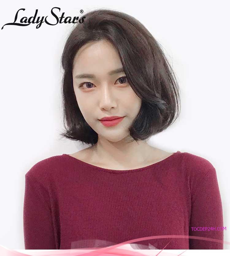 Top 10 mẫu tóc giả xoăn ngang vai đẹp