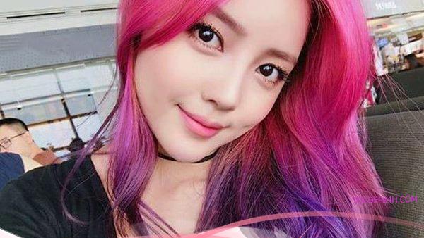1 số Công thức nhuộm tóc đỏ tím không tẩy bền mầu đẹp