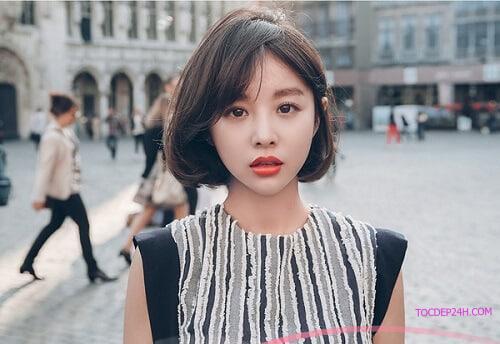 Tóc ngắn Hàn Quốc bob Những kiểu tóc ngắn Hàn Quốc đẹp nhất dẫn đầu 2021