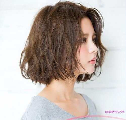 Tóc ngắn Hàn Quốc xoăn sóng lơi Những kiểu tóc ngắn Hàn Quốc đẹp nhất dẫn đầu 2021