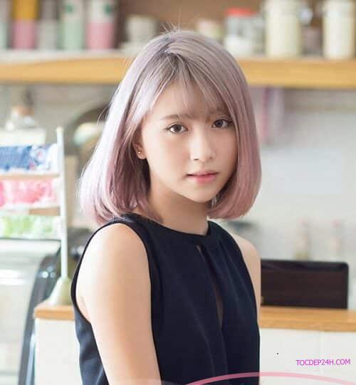 Tóc uốn cụp Hàn Quốc Những kiểu tóc ngắn Hàn Quốc đẹp nhất dẫn đầu 2021