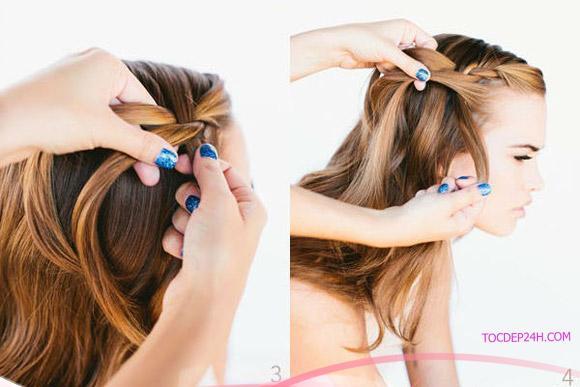 Hóa thân thành cô nàng trẻ trung năng động với 3 cách tết tóc chân rết