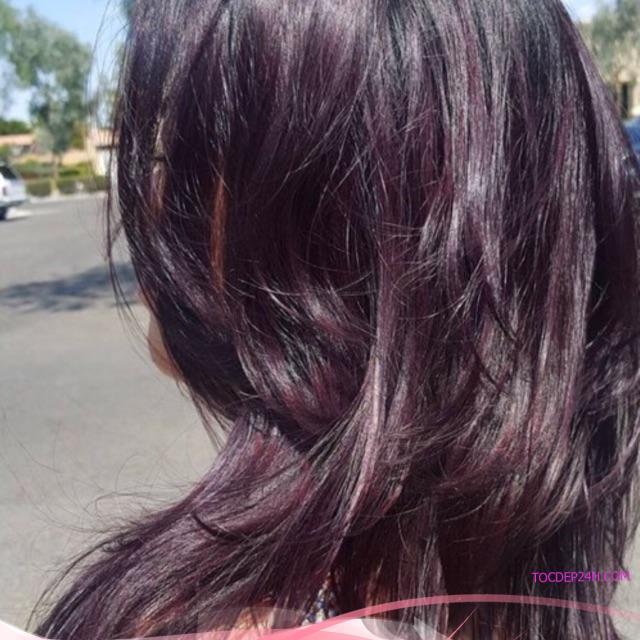 Thuốc nhuộm tóc tone tím( lựa chọn loại màu dưới phần mua hàng) được kèm trợ dưỡng,găng tay | Shopee Việt Nam