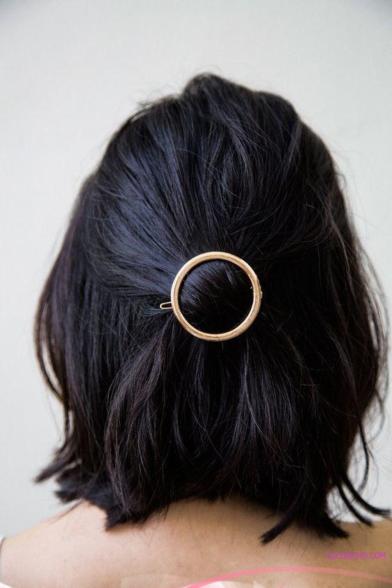 cach tao kieu cho toc ngan ladystars 9 - Những kiểu cột tóc ngắn đẹp nức nở nhất định nàng phải thử ngay