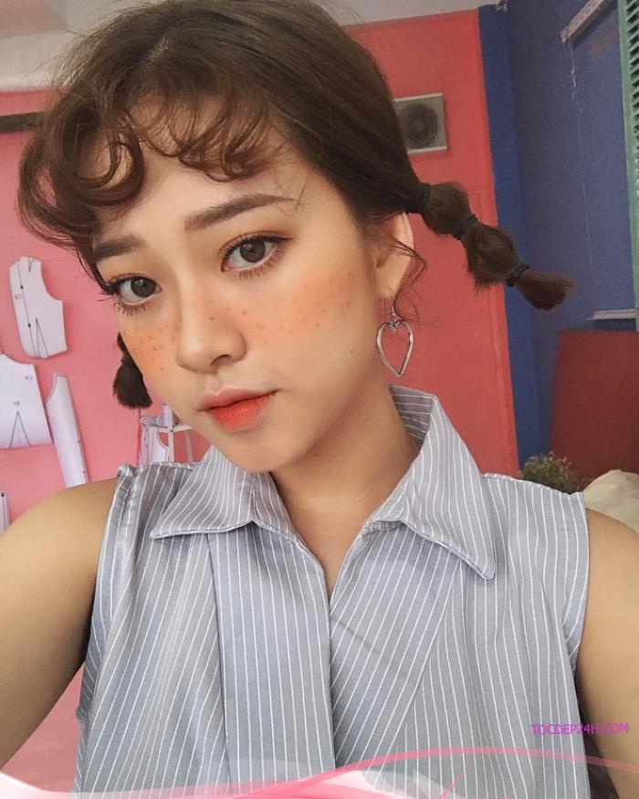 Những kiểu cột tóc ngắn đẹp nức nở nhất định nàng phải thử ngay