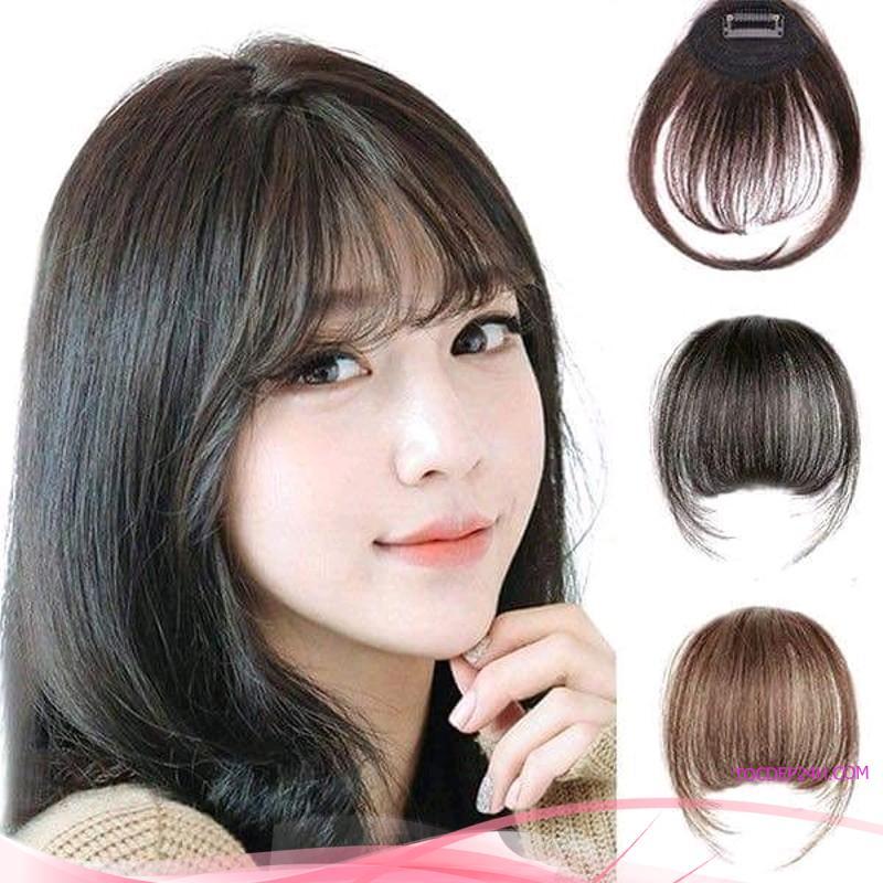 Bỏ túi 5 kiểu tóc mái cho những cô nàng mặt dài
