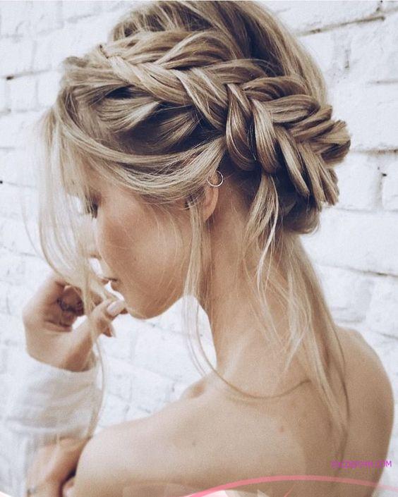 kieu tet toc co dau dep ladystars 17 - Hướng dẫn 8 kiểu tết tóc cô dâu đơn giản dễ làm