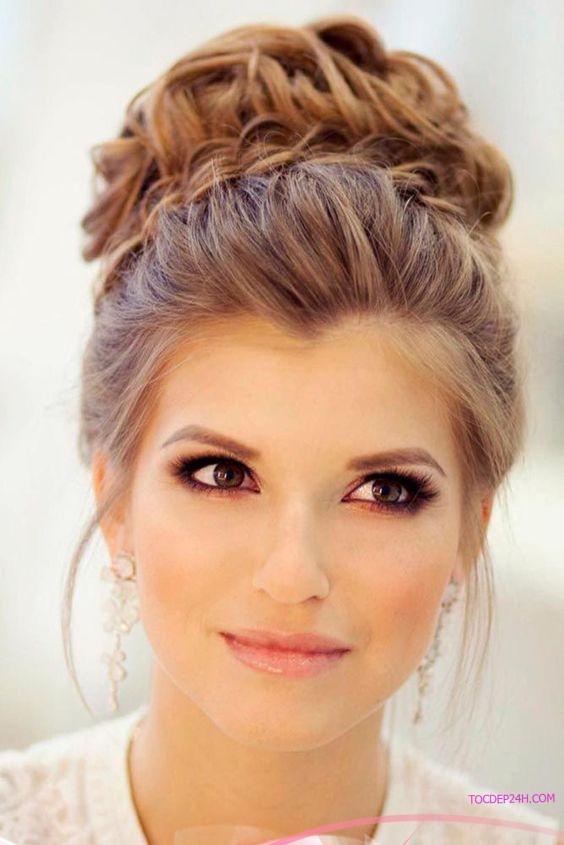kieu tet toc co dau dep ladystars 9 - Hướng dẫn 8 kiểu tết tóc cô dâu đơn giản dễ làm