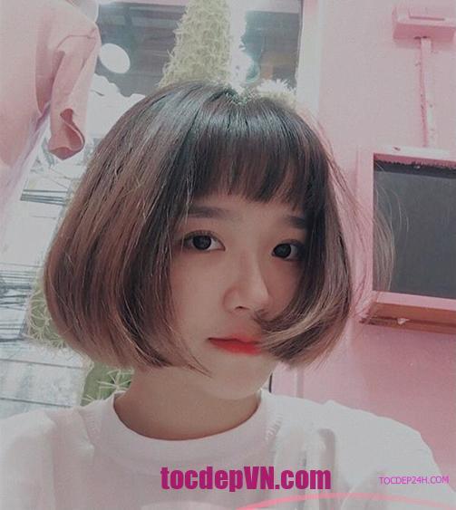 40 kiểu tóc bob đẹp 2021 - Tóc đẹp 24 Giờ