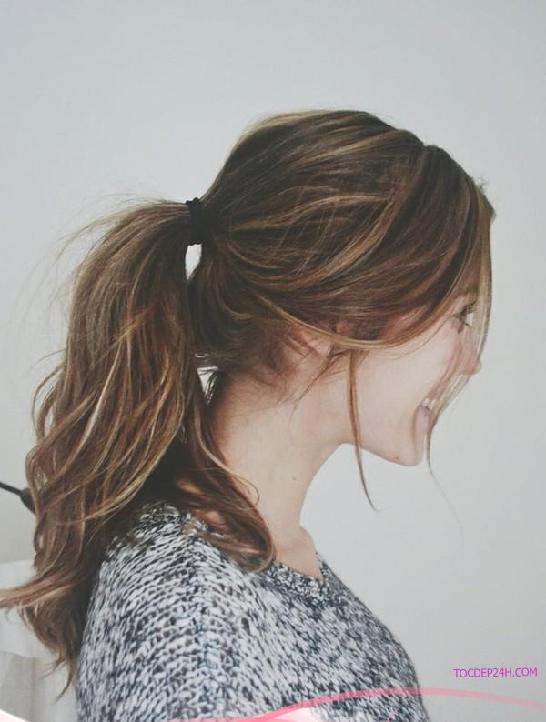 6 kiểu tóc cột đuôi ngựa được yêu thích nhất năm 2018