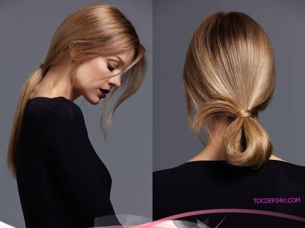 6 kiểu tóc cột đuôi ngựa
