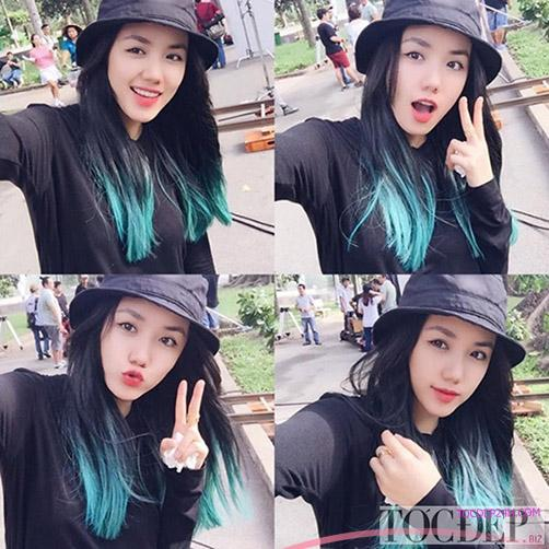 tóc ngang vai Hàn Quốc