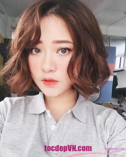 Tóc đẹp 24 giờ , tocdep24h.com top 20 kiểu tóc ngắn Uốn Xoăn đẹp 2021