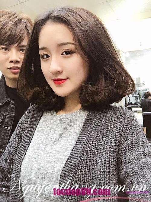 kiểu tóc ngắn Uốn Xoăn đẹp 2021 - Tocdep24h.com