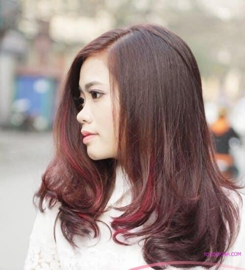 Kiểu tóc ngang vai uốn phồng đẹp nhất 2021 - Ảnh 19
