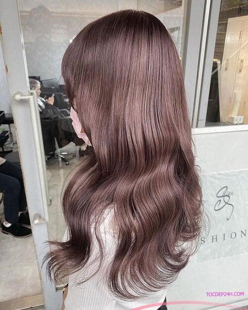 Tóc đỏ rượu - Ảnh 4 5 Màu tóc nhuộm mùa hè xinh tươi, ngọt ngào tôn da trắng