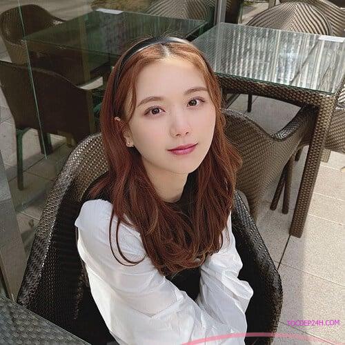 Tóc cam caramel - Ảnh 1 5 Màu tóc nhuộm mùa hè xinh tươi, ngọt ngào tôn da trắng
