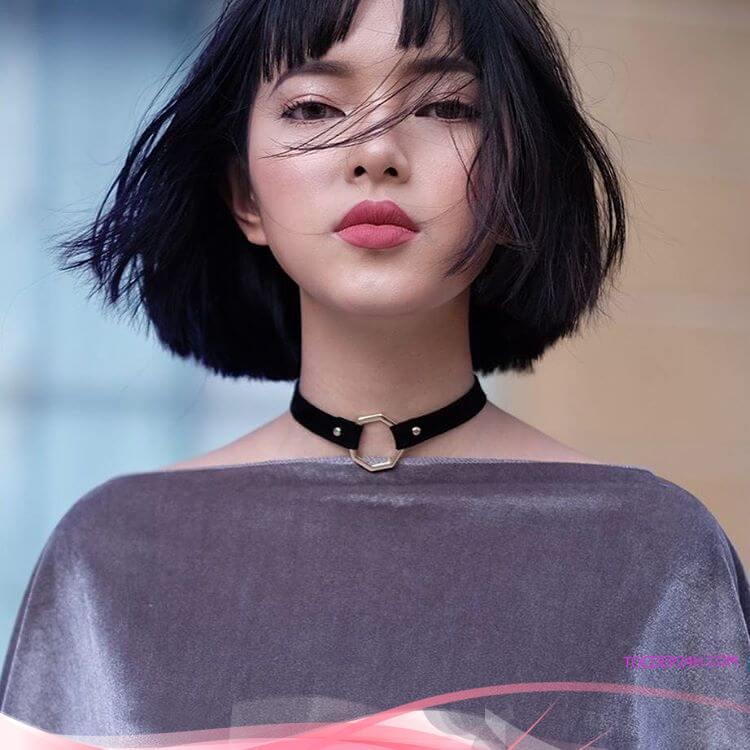 Điểm danh những kiểu tóc ngang vai duỗi thẳng đẹp tự nhiên đáng yêu