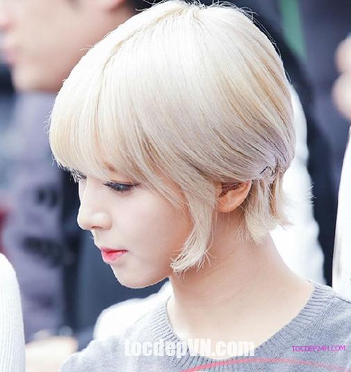 Tóc đẹp 24 giờ , tocdep24h.com 21 Kiểu tóc màu Bạch Kim 2020 phải thử