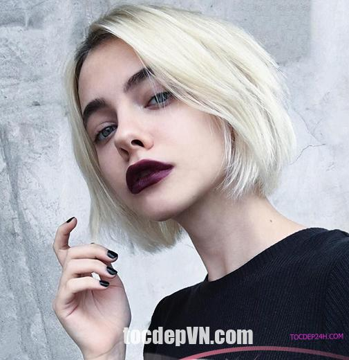 21 Kiểu tóc màu Bạch Kim 2020 phải thử