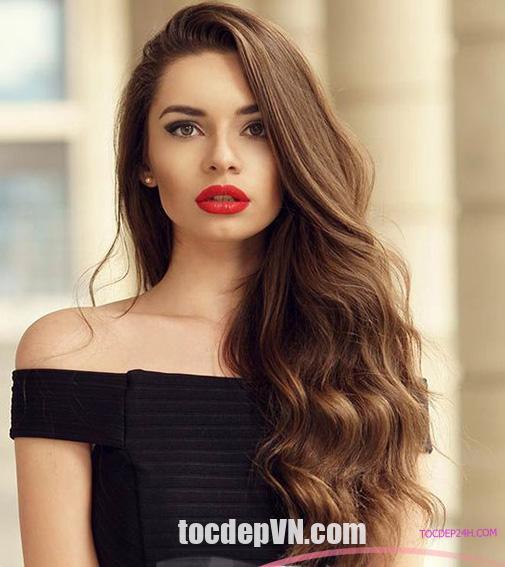 31 Kiểu tóc màu Hạt Dẻ 2020 phải thử - tóc đep 24 giờ
