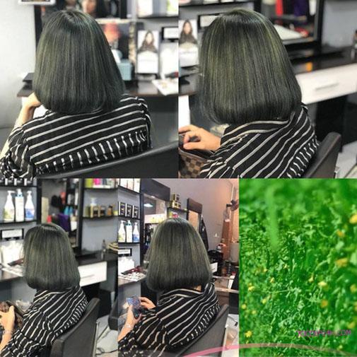 28 Kiểu Tóc Màu Nâu Rêu 2020 Đẹp Nhất