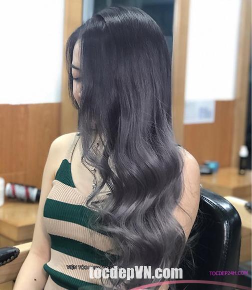 Tóc đẹp 24 giờ , tocdep24h.com 26 Kiểu tóc màu Than Chì 2020 phải thử