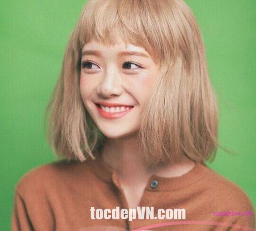 Tóc đẹp 24 giờ , tocdep24h.com 23 Kiểu tóc màu Vàng Khói 2020 phải thử
