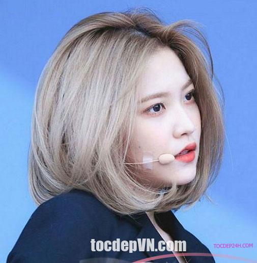 Tóc đẹp 24 giờ , tocdep24h.com 23 Kiểu tóc màu Vàng Khói