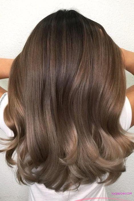 toc nhuom mau nau tay ladystars 3 - Top 8 màu nhuộm tóc sáng da nhất định bạn phải biết