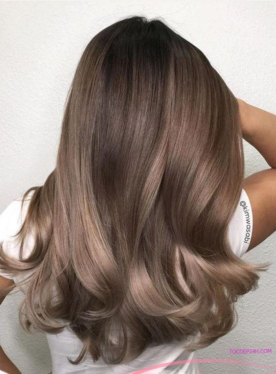 màu nhuộm tóc sáng da