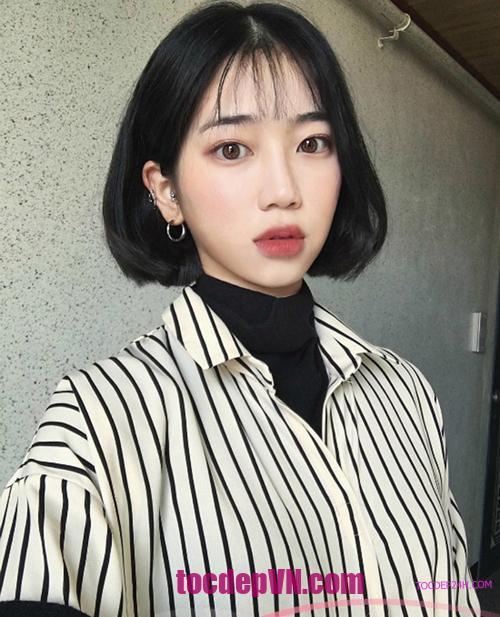 Tóc đẹp 24 giờ , tocdep24h.com top 24 kiểu tóc ngắn Mái Thưa đẹp 2021