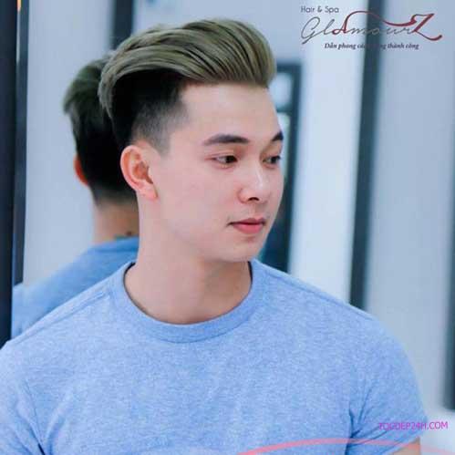 Kiểu tóc trẻ trung dành cho Nam
