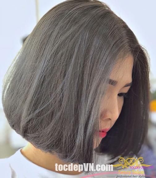 Tóc đẹp 24 giờ , tocdep24h.com 23 Kiểu tóc màu Đen Khói 2020 phải thử