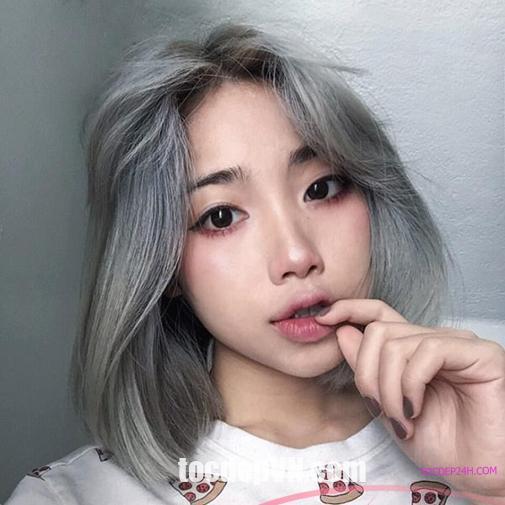 Tóc đẹp 24 giờ , tocdep24h.com Kiểu tóc Màu Khói 2021 phải thử