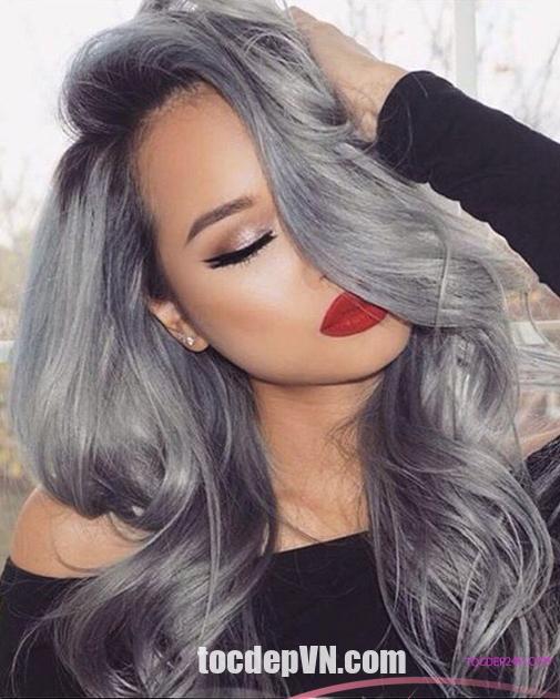 Kiểu tóc Màu Khói 2021 phải thử