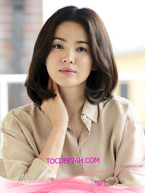 Tóc đẹp 24 giờ , tocdep24h.com Kiểu Tóc Ngang Vai Đẹp