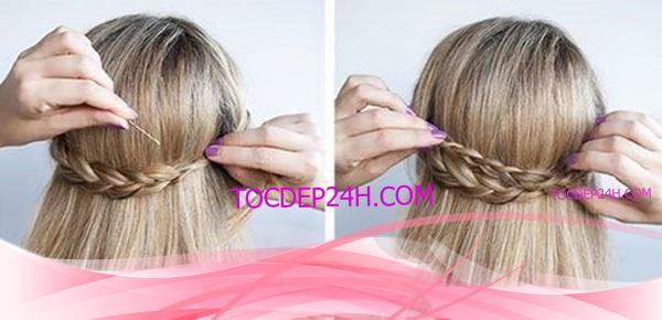 tết tóc vòng cung