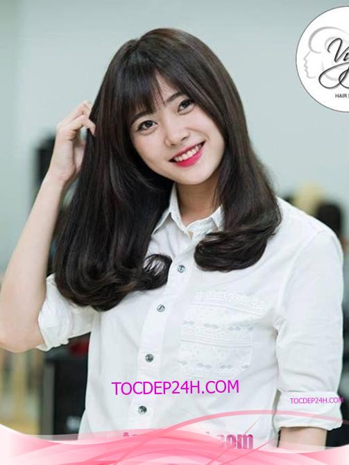 Tóc đẹp 24 giờ , tocdep24h.com kiểu tóc uốn cúp đuôi đẹp 2021