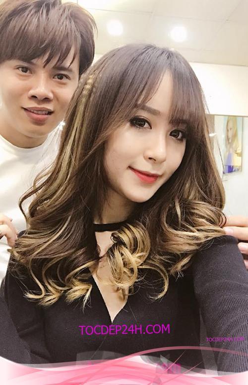Tóc đẹp 24 giờ , tocdep24h.com Kiểu Tóc Xoăn Dài Đẹp