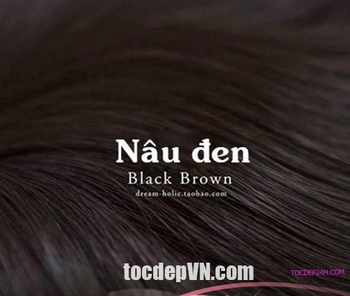 20 Kiểu tóc màu Nâu Đen 2020 phải thử