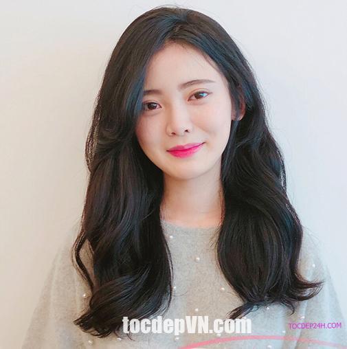 Kiểu tóc màu Nâu Đen