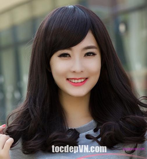 Tóc đẹp 24 giờ , tocdep24h.com 20 Kiểu tóc màu Nâu Đen