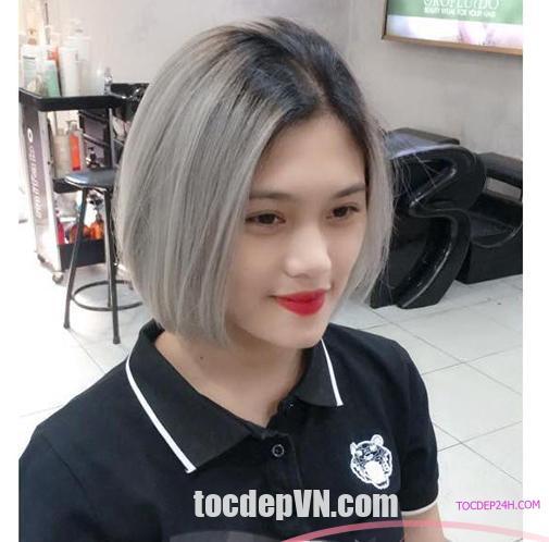 19 Kiểu tóc màu Xám Tro 2021 phải thử