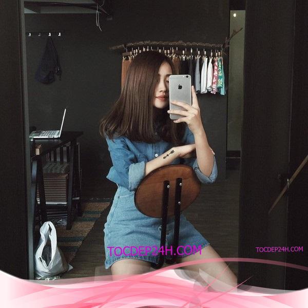 tóc ngang vai hotgirl Các kiểu tóc ngang vai hotgirl để bạn gái đổi phong cách